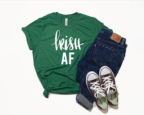 St. Patricks Day T-shirt | St. Patricks Day Shirt | Irish AF Shirt | Irish Shirt | St. Paddy's Day Shirt | Irish Drinking Shirt | Shamrock