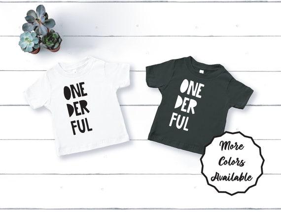 One Year Old Birthday Shirt, 1st Birthday Shirt, First Birthday Shirt, Mr Onederful Shirt, First Birthday Outfit, Wild One Birthday Shirt