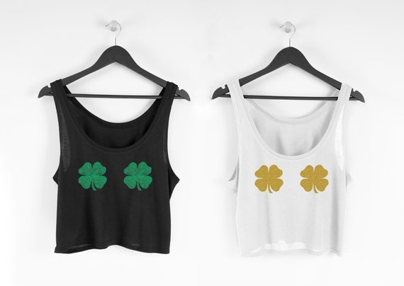 St. Patricks Day Crop Top | St. Patricks Day Tank Top | Shamrock Shirt | Shamrock Tank | Lucky Tee | St. Paddy's Day Shirt | Drinking Shirts