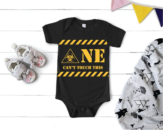 Quarantine First Birthday | 1st Birthday Outfit | Quarantine Baby Gift | One YearCan't Touch This Baby Bodysuit | Quarantine Birthday Suite