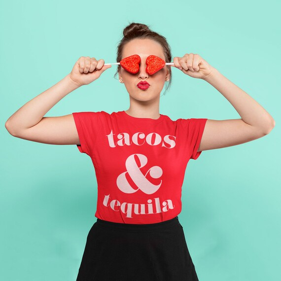 Tacos and Tequila Tee, Taco Shirt, Tequila Shirt, Taco Tuesday Shirt,  Taco Time T-shirt Let's Taco Bout it t-shirt, Cinco de Mayo T-shirt