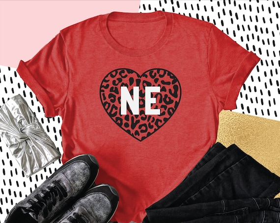 Cute Nebraska Shirt, Nebraska Leopard Print, Midwest is Best Shirt, State of Nebraska Shirt, Nebraska Crewneck, Game Day, Corn Fed Shirt