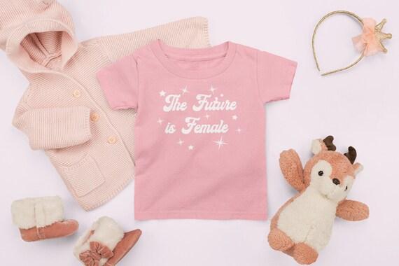 The future is female toddler shirt, Feminist shirt for kids, Girl Power shirt for kids, Girl Gang t-shirt kids, Madam President Shirt Kids