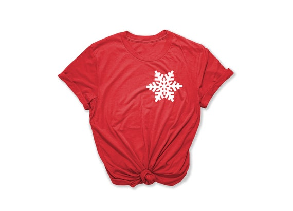 Snowflake Shirt, Silver Christmas Shirt, Buffalo Plaid Shirt, Christmas Party Shirt, Cute Winter Shirt, Holiday Shirt, Family Christmas