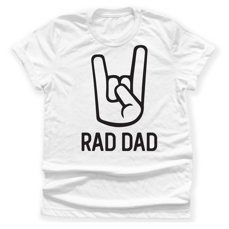 Usaprint Fathers Day Dad T Shirt My Dad My Hero Design T: Rad Dad T-shirt Rad Dad Shirt Dad Gift T-shirt Radical