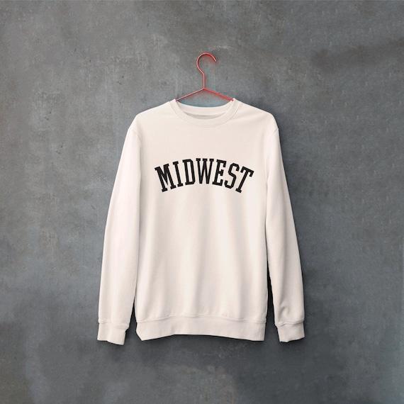 Midwest Sweatshirt, Midwest is Best Sweatshirt, Midwest Mama, College Sweatshirt, Ope Sweatshirt, Minnesota Sweatshirt, Iowa Sweatshirt