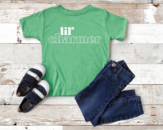 Kids St Patricks day shirt, Toddler St Patricks day shirt, St. Patrick's Day Shirts for Boys, Charmer Shirt For Kids, Lucky Boy Kids Tee