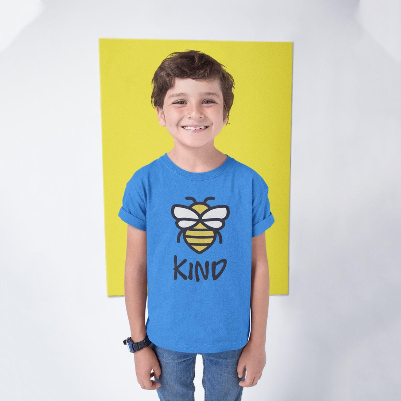 652c0983 Be Kind Kid t-shirt Be kind shirt Bee Kind T-shirt Kids be kind shirt  Kindness shirt Kind T-shirt Bee T-shirt Cute kids clothes Kindness tee