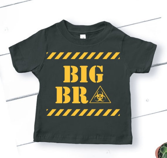 Big Bro Shirt T-Shirt | Big Brother Shirt | Pregnancy Announcement | Promoted to Big Brother | Quarantine Shirt for Kids | Toddler Tees