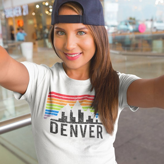 Denver Shirt | Colorado Tee | Colorado Gift | Pride Shirt Colorado | Love is Love Shirt | Colorado Tank Top | Crop Top | Denver Tee