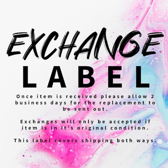 Exchange Label
