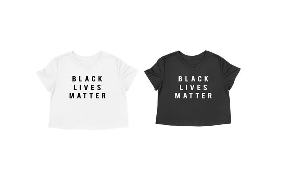 Black Lives Matter Shirt | #BLM | BLM Shirt | I Can't Breathe Shirt | Black Lives Matters Crop Tee | Racial Equality Shirt | Black History