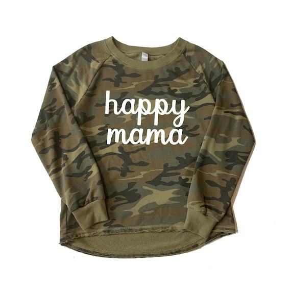 Happy Mama Sweatshirt   Mama Sweatshirt   Cropped Mom Sweatshirt   Blessed Mama Shirt   Mom Life Sweatshirt   Mama Bear   Mother's Day Gift