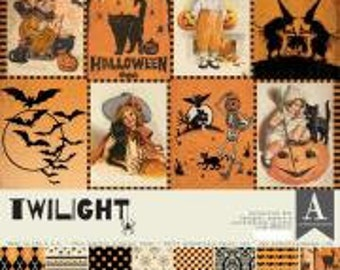 """Graphic 45 Double-Sided Paper Pad 12/""""x12/"""" Little Women 16pcs Print//Solid"""