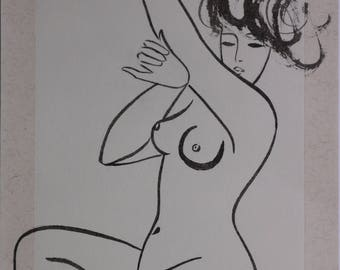 Female nude drawing 109