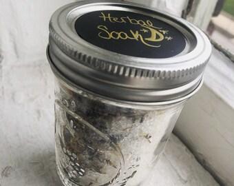 herbal bath soak // herbal foot soak