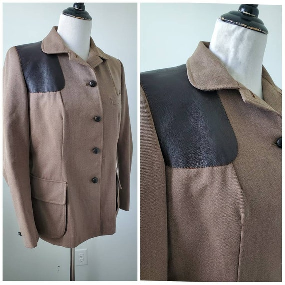 1950s Irving for Saks Fifth Avenue shooting jacket