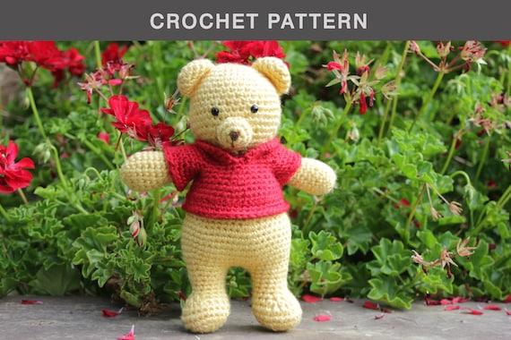 Crochet Amigurumi Winnie The Pooh Free Patterns | Crochet disney ... | 380x570