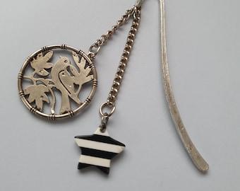 Nautical gothic bookmark chain, Kawaii, scandinavia minimalist style