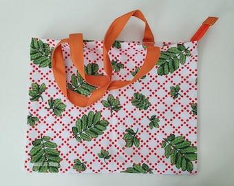 PIHLAJA bag, Medium size, design tote bag, luxury shopping bag