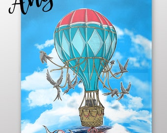 Let's go anywhere Poster A3