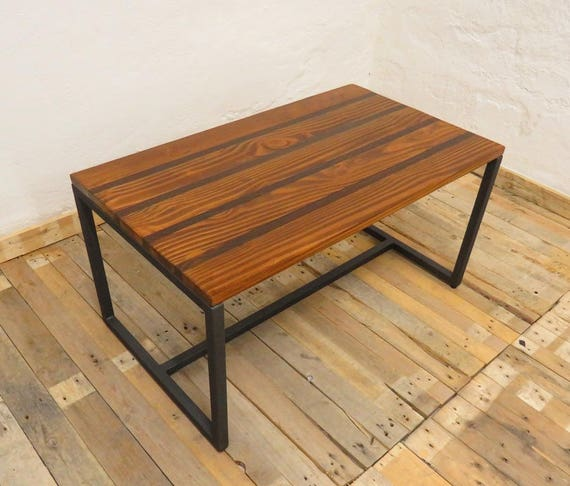 Wooden Coffee Table Coffee Table For Living Room Table Etsy