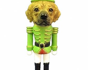 8865ad6932e20 Puggle Dog Toy Soldier Nutcracker Christmas Ornament