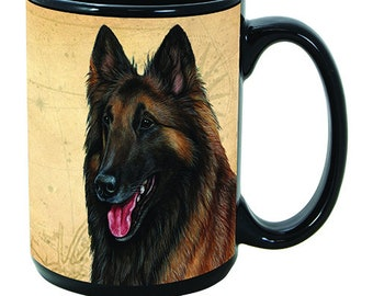 Belgian Tervuren dog,Chien de Berger Belge,Tervuren,Belgian Shepherd,Coffee Mug