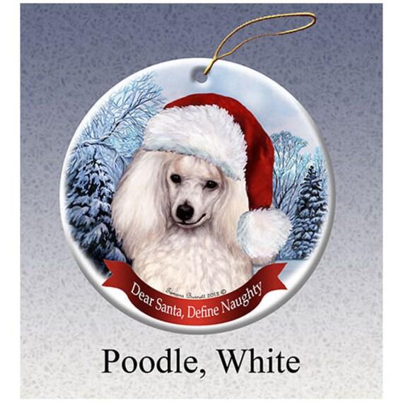 Porcelain Ornament Poodle
