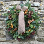 Christmas Wreath Kit, DIY Christmas Wreath, Make Your Own Traditional Christmas Wreath