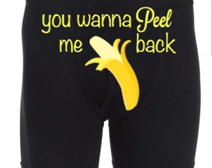 """Personalized """"you wanna Peel me back""""/FAST SHIPPING/BIRTHDAYS"""