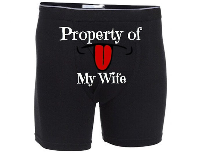 """Personalized """"Property of My Wife""""/FAST SHIPPING/Special Occasion"""
