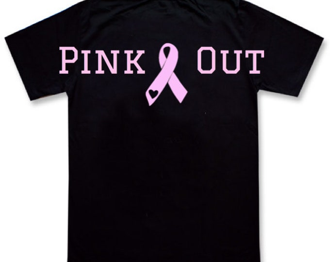 """Breast Cancer Awareness """"PInk Out""""/FAST SHIPPING"""