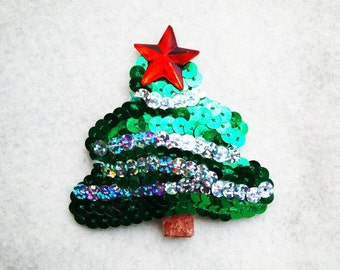 Burlesque Christmas pasties - Christmas tree tassels