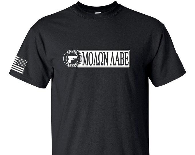 Canik Fanatik Shirt - Molon Labe - Canik Guns - Canik TP9  - Second Amendment - Mens Shirt - Womens Shirt - Canik TP Series