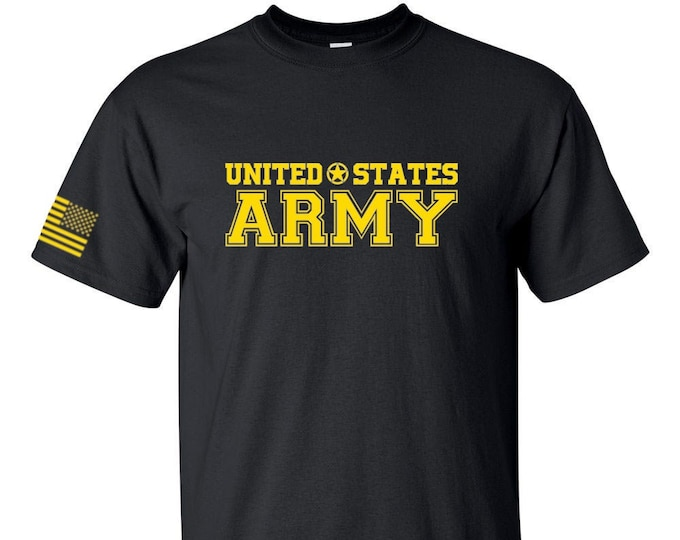 Army Shirt - Mens and Womens Army Shirt - Army National Guard - Army Veteran - Army Reserve - Soldier - Army Tee - Military Shirt