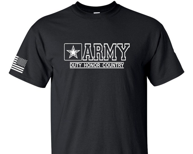 Army Shirt - Mens Army Shirt - Womens Army Shirt - Army National Guard - Army Veteran - Army Reserve - Soldier - Army Tee - Military T-Shirt