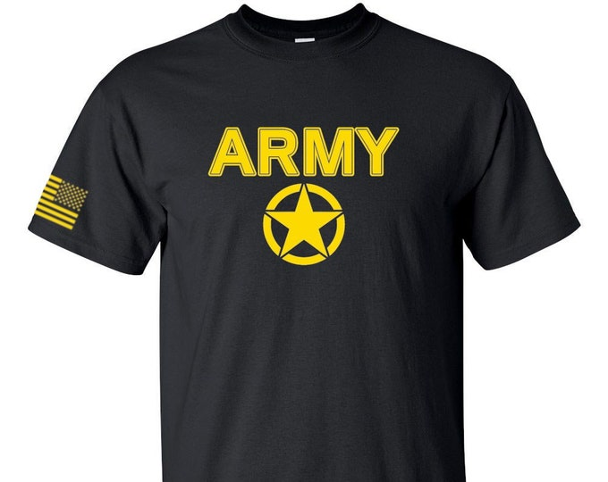 Army - Army Shirt - Mens Army Shirt - Womens Army Shirt - Army National Guard - Army Veteran - Soldier - Army Reserve - Military Shirt