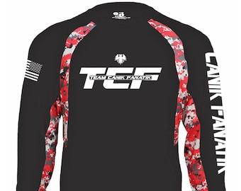 Team Canik Fanatik Jersey - Long Sleeve - Competition - Canik Fanatik Shirt - Canik Fanatik Accessories - v01-2