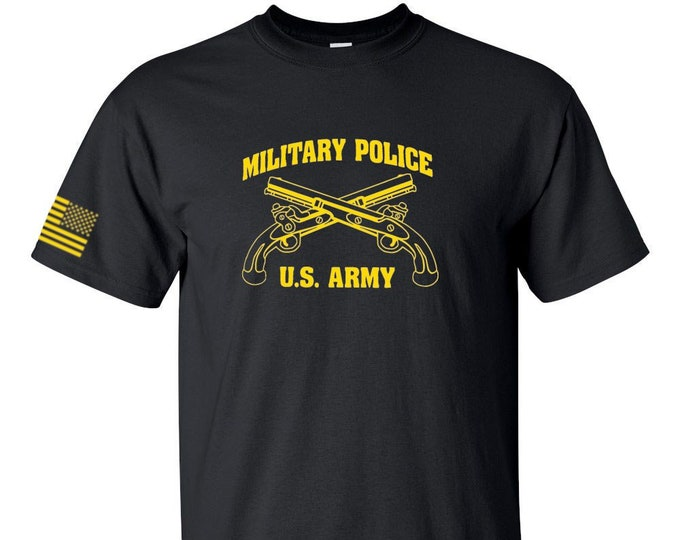 Army Shirt- Military Police - Mens Army Shirt - Womens Army Shirt - Army National Guard - Army Veteran - US Army Shirt - Army Reserve