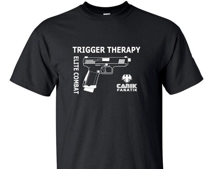 Canik Fanatik Shirt- Trigger Therapy - Elite Combat - Mens and Womens Shirt - Canik TP9