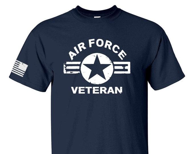 Air Force Shirt - Air Force Veteran - Mens and Womens Air Force Shirt - Military Shirt - USAF Shirt - Casual Shirt - Unisex Shirt - Airman