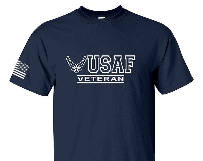 Air Force Shirt - Air Force Veteran - Air Force Shirt Mens and Womens - Air National Guard - Military Veteran - Unisex Shirt - Airman