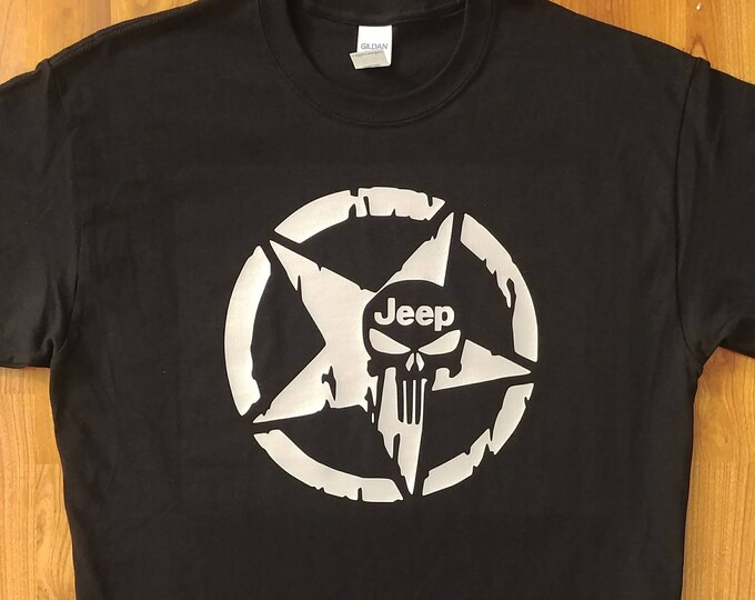 Jeep - Jeep Punisher - Wrangler - Jeep Life - Jeep Gift Idea - Jeep Nation - Jeep Life - Jeeper - Jeep Guy - Jeep Girl - Jeep T-Shirt
