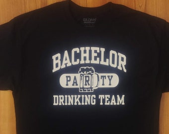 Bachelor Party - Wedding Party - Wedding Gift - Bachelor Party Drinking Team - Groom - Groomsmen - Best Man - Bridal Party - Customizeable
