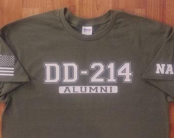 Navy Veteran - Navy Shirt - DD214 Alumni - Mens and Womens Shirt - Unisex Shirt - Navy Sailor - Navy Reserve - MIlitary Veteran