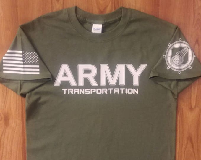 Army Shirt - Transportation - Soldier - Mens Shirt - Womens Shirt - National Guard - Army Veteran- Army Reserve - Army MOS 88 Mike