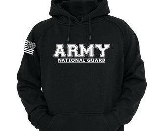 Army National Guard Hoodie - Army Sweatshirt - Mens and Womens Army Hoodie - National Guard - Army Veteran - US Army Hoodie