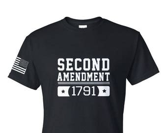 2A - 2nd Amendment v.03 - Second Amendment - Gym Shirt - Workout Shirt - Casual Shirt - Unisex Shirt