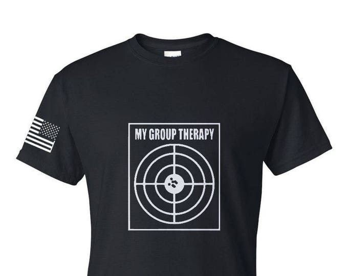 2A - My Group Therapy - Second Amendment - Army - Navy - Air Force - Marines - Coast Guard - Gym Shirt - Workout Shirt